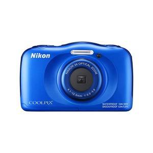 Nikon[ニコン] コンパクトデジタルカメラ  COOLPIX W100  防水10m、耐衝撃性能...