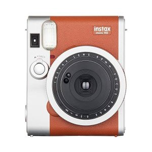 (送料無料)富士フィルム インスタントカメラ チェキ instax mini 90 NC(ネオクラシック) BR(ブラウン)(メール便不可)|homeshop