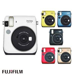 富士フィルム インスタントカメラ チェキ instax mini 70N [カラー選択式](FUJIFILM)(メール便不可)