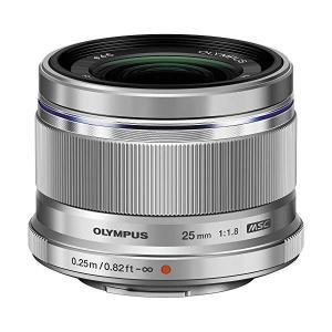 オリンパス 大口径標準レンズ M.ZUIKO DIGITAL 25mm F1.8 シルバー(マイクロ...