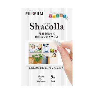 FUJIFILM(フジフィルム) シャコラ(shacolla) 壁タイプ5枚パック チェキサイズ  ...