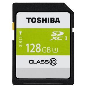【メール便可:1個まで】 東芝 SDXCメモリカード 128GB(Class10) UHS-I 【SDAR40N128G】 homeshop
