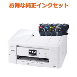 (純正インクセット) ブラザー DCP-J981N+LC3111-4PK A4インクジェットプリンタ...