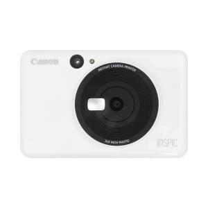 キヤノン インスタントカメラプリンター iNSPiC CV-123-WH (3884C009)