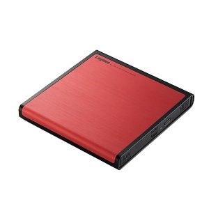 ロジテック DVDドライブ レッド LDR-PMJ8U2LRD [Logitec] (メール便不可) homeshop