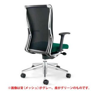 KOKUYO オフィスチェア フォスター(FOSTER) CR-G1411B6 (背面:ブラック) *画像は背面がグレーですが、商品はブラックです。(メール便不可)|homeshop