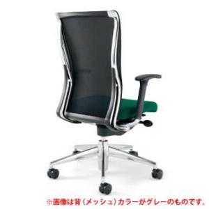 KOKUYO オフィスチェア フォスター CR-G1411C1 (背面:ホワイト) *画像は背面がブルーイッシュグレーですが、商品はホワイトです。(メール便不可)|homeshop