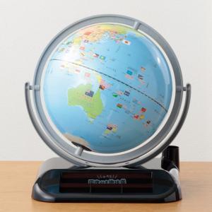 機能満載の2018最新版モデルです! 幼稚園〜小学生のお子さんを持つお母さんに大人気の国旗付き地球儀...