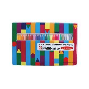 (送料/540円)サクラクレパス クーピーペンシル 24色セット FY24R1 (ソフトケース入り)(メール便不可)|homeshop