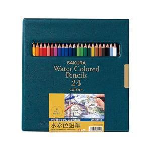 (送料/540円)サクラクレパス サクラ水彩色鉛筆 24色セット EPY24(メール便不可)|homeshop