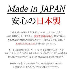(日本製)東京西川 ウォッシャブルウールベッドパッド シングル (詰めもの:ウール100% 1.0Kg) (品番:CM08002987) (メール便不可)(ラッピング不可)|homeshop|03