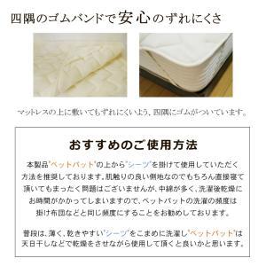 (日本製)東京西川 ウォッシャブルウールベッドパッド シングル (詰めもの:ウール100% 1.0Kg) (品番:CM08002987) (メール便不可)(ラッピング不可)|homeshop|07