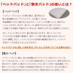 (日本製)東京西川 ウォッシャブルウールベッドパッド シングル (詰めもの:ウール100% 1.0Kg) (品番:CM08002987) (メール便不可)(ラッピング不可)|homeshop|08