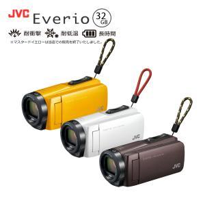 ビデオカメラ JVC エブリオ ハイビジョンメモリームービー GZ-F270 Everio ブラウン...