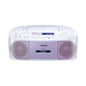 東芝(CDラジカセ)TY-CDS7(P)ピンク「TOSHIBA」(CD/カセットテープ/ラジオ)(メール便不可) homeshop