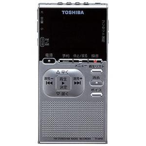 東芝(ICレコーダー内臓ポケットラジオ)TY-RPR1(S)(シルバー)内蔵マイク搭載(メール便不可) homeshop