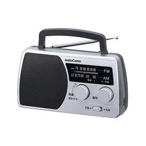 オーム電機 AM/FMポータブルラジオ RAD-T410N (07-6422)(メール便不可) homeshop