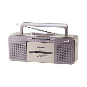オーム電機 AM/FMステレオラジオカセットレコーダー RCS-S708M (07-9729)(メール便不可) homeshop