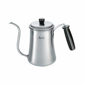 ドリップコーヒーをいれるのに最適なスタイルのステンレスケトル。       1.3リットルという容量...