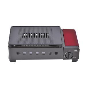 グリーンウッド カセットグリル GC-RS1 レッド (調理器具)(メール便不可)|homeshop