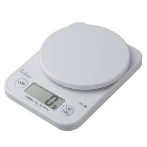 TANITA(タニタ) デジタルクッキングスケール KF100WH 収納しやすいコンパクトサイズ(KF-100)(メール便不可)|homeshop