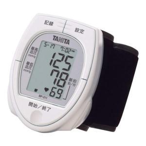 TANITA(タニタ) 血圧計 BP-211-WH ホワイト 手首式血圧計 便利な時計機能付き(BP-210の後継機種)簡単操作ワンプッシュ測定(BP210/BP211)の画像