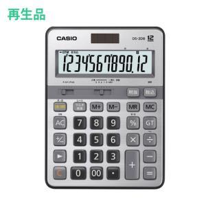 (メーカー再生品)カシオ 本格実務電卓 DS-2DB 12桁 (メール便不可)|homeshop