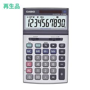 (メーカー再生品)カシオ 本格実務電卓 JS-100W-N 10桁 (メール便不可)|homeshop