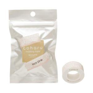 (メール便可:5点まで)キングジム 専用マスキングテープ MPT010 レース ピンク[coharu][KINGJIM]|homeshop