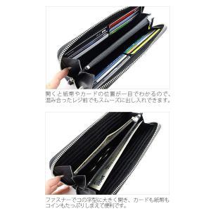 (長財布) Lee (リー)メンズ  ラウンドファスナー 0520367 ブラウン 財布|homeshop|05