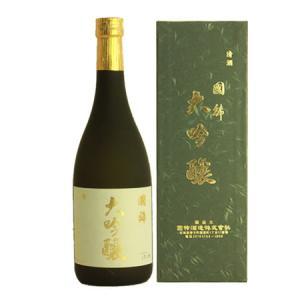 (日本酒)(北海道の地酒)大吟醸 国稀 720ml 化粧箱付き 日本酒 辛口 「北海道増毛町」(お歳暮 ・ ギフト)(メール便不可) homeshop