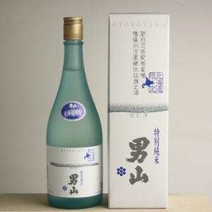 (日本酒)(北海道の地酒)特別純米 男山 720ml 北海道限定 化粧箱付き(お歳暮 ・ ギフト)(メール便不可)|homeshop
