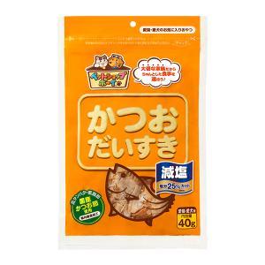 (メール便可:2点まで)(ペットフード) マルトモ ペットショップボーイ 減塩かつおだいすき 40g(ラッピング不可)|homeshop
