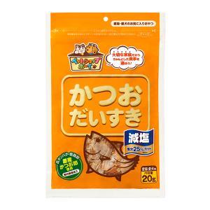 (メール便可:2点まで)(ペットフード) マルトモ ペットショップボーイ 減塩かつおだいすき 20g|homeshop