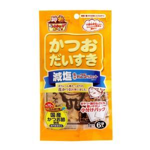 (ペットフード) マルトモ ペットショップボーイ 減塩かつおだいすき 1g×6袋 (メール便不可)|homeshop