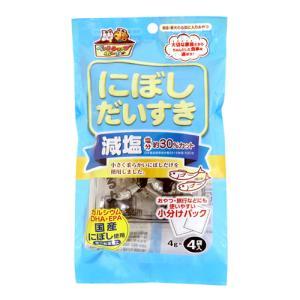 (ペットフード) マルトモ 減塩にぼしだいすき 4g×4袋 (メール便不可)|homeshop