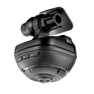 カーメイト DC3000 ドライブレコーダー機能付き360°車載カメラ d'Action 360 ダクション360(メール便不可) homeshop