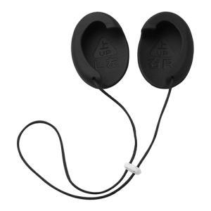 (代引不可) テクナード 補聴耳カバー 私のミミ ブラック WM-004(ラッピング不可) ホームショッピング