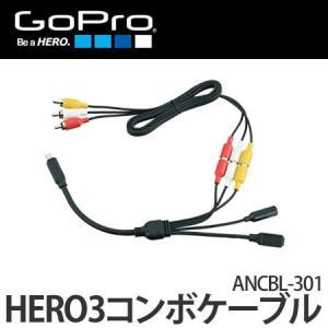 GoPro アクセサリー HERO3コンボケーブル 【ANCBL-301】【HERO3・HERO3+・HERO4】【メール便不可】|homeshop