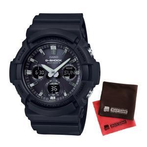 【セット】【国内正規品】[カシオ]CASIO 腕時計 GAW-100B-1AJF [ジーショック]G-SHOCK メンズ [GAW100B1AJF]&クロス2枚【電波ソーラー】【メール便不可】 homeshop
