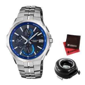 (時計ケース丸型・クロスセット)(国内正規品)(カシオ)CASIO 腕時計 OCW-S5000-1AJF (オシアナス)OCEANUS メンズ 最薄マンタ Bluetooth搭載(メール便不可)|homeshop