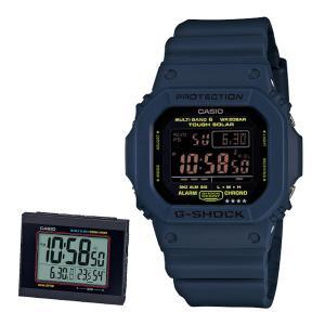 (G-SHOCK&目覚まし時計セット)(カシオ)CASIO 腕時計 GW-M5610NV-2JF G...
