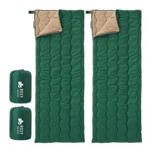 LOGOS ロゴス 72600611 ROSY 丸洗い寝袋・6(グリーン)2個セット(R12BJ00...