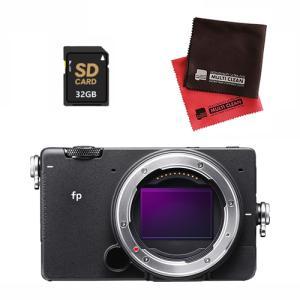 シグマ ミラーレス 一眼カメラ SIGMA fp ボディ SD32GBセット