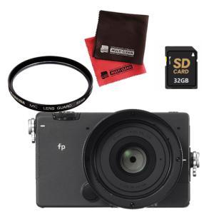 シグマ ミラーレス 一眼カメラ SIGMA fp 45mm F2.8 DG DN レンズキット レン...