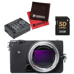 シグマ ミラーレス 一眼カメラ SIGMA fp ボディ 予備バッテリーセット