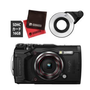 OLYMPUS オリンパス コンパクトデジタルカメラ Tough TG-6 ブラック  あらゆる環境...