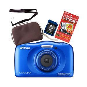 (SD16GB&ポーチ&ストラップ等セット)(送料無料)Nikon(ニコン) デジカ...