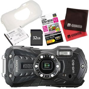 リコーイメージング (ペンタックス/PENTAX) デジタルカメラ WG-60 ブラック [WG60...