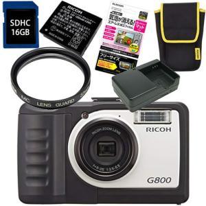 リコー RICOH 工事現場仕様デジタルカメラ G 800 [G-800]  セット内容 ★リコー ...
